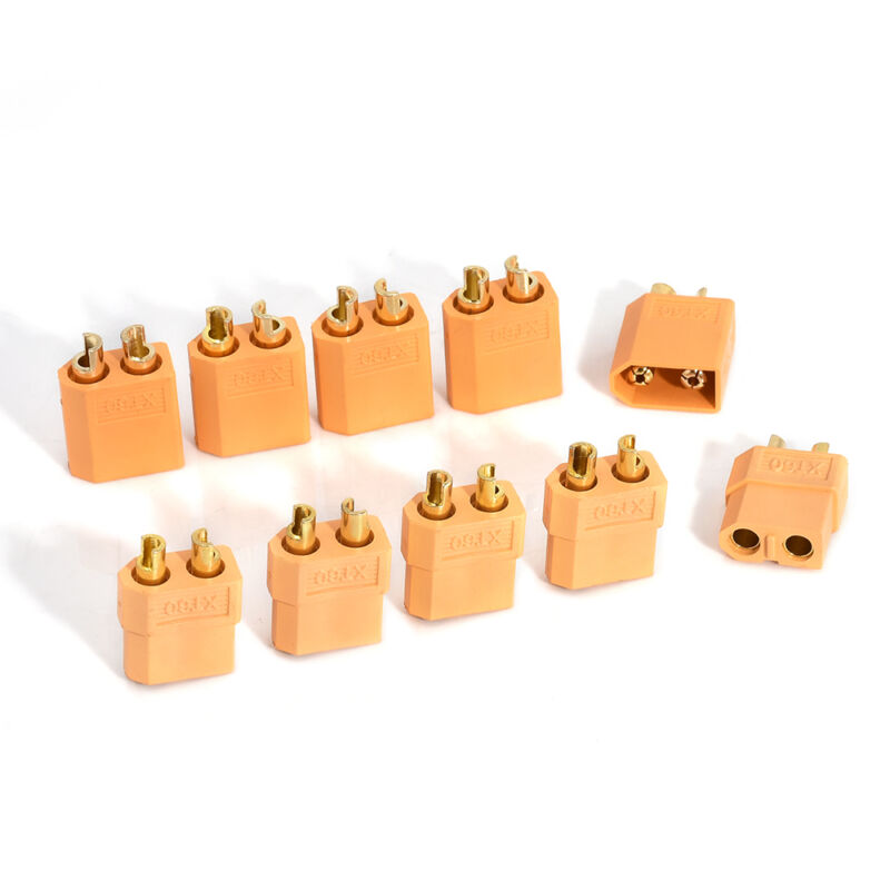 Lots 5 Pairs 10Pcs XT60 Male+ Female Bullet Connectors Plugs for RC Lipo Battery 3