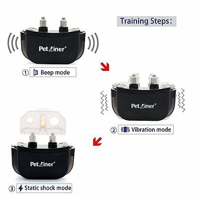 Petrainer Rechargeable Dog Training Shock E Collar for Small Medium Large Dogs 3