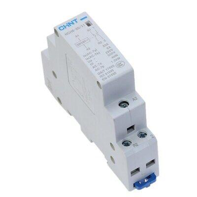 CHINT NCH8-20//22  Modular AC Contactor AC230V 20Amp 2NO+2NC