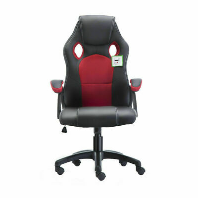 Executive Office Racing Gaming Chair Swivel Pu Leather Computer Desk Sport 5