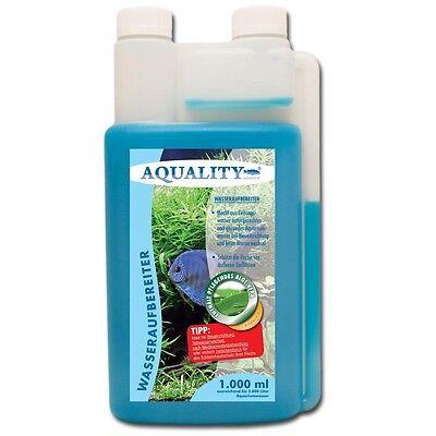 (9,33€/l) AQUALITY 3er Starter- & Pflege-Sparset 1000 Filtermedium, Algen Ex 4