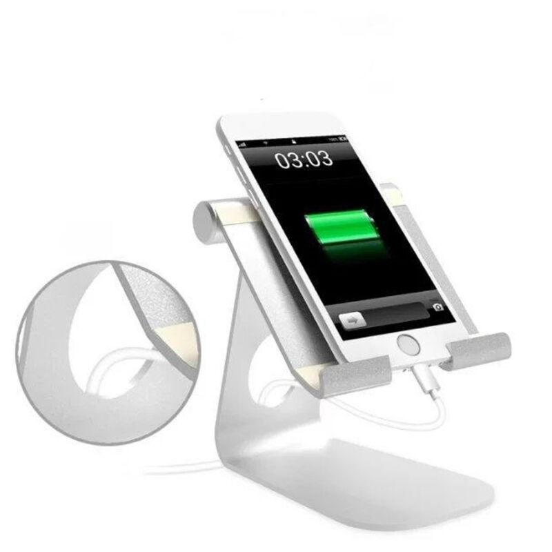 Universal Tablet iPad Ständer Winkel verstellbar für 7-13-Zoll-Tablet Silber 2