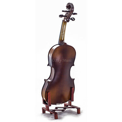 Solid Maple Spruce Wood Fiddle Violin 4/4 Full Size w Case Bow Rosin String 3