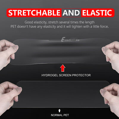 Samsung Galaxy S10 5G S9 S8+ S10e Note 10 9 8 HYDROGEL FLEX Screen Protector 3