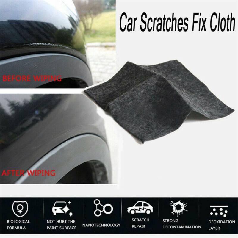 2019 Car Scratch Eraser Magic Car Scratch Repair Remover Nano Cloth Surface Rag 3
