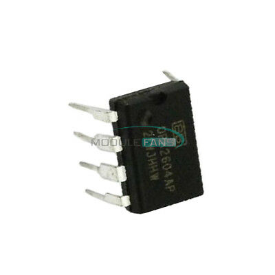 1PCS OP AMP IC BURR-BROWN//BB//TI DIP-8 OPA2604AP OPA2604APG4 100/% Genuine