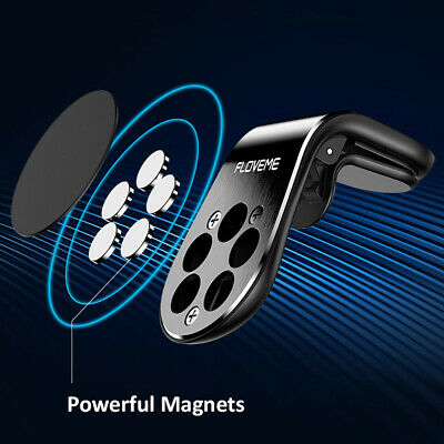Phone Holder Clip Car Air Vent Magnetic Bracket for Mobile Phone GPS Accessories 4