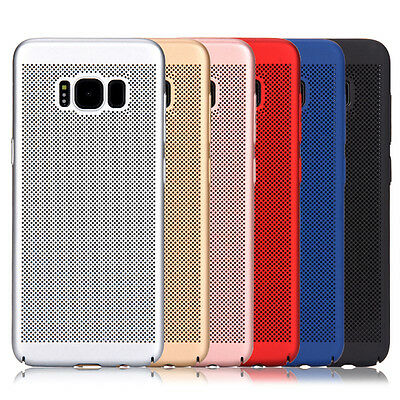 For Samsung Galaxy S8 Plus/S7 Hard Case Thin Shockproof Hybrid Phone Cover Skin 4