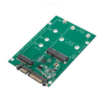 mSATA / M2 NGFF SSD to SATA Converter Adapter Combo Card M.2 2 In 1 4