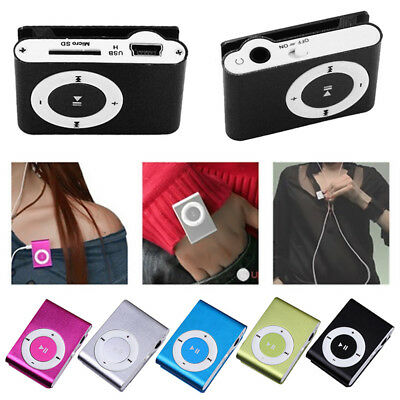 Mini USB Clip Sport MP3 Player Walkman Support Up To 64GB Micro SD Memory Card 9