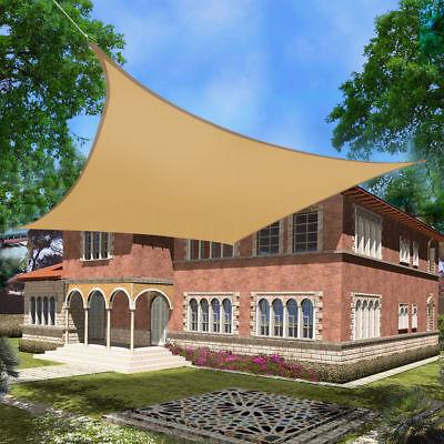 Outdoor Garden Patio Sun Shade Sail Canopy Awning Waterproof 98% UV Protected UK 6