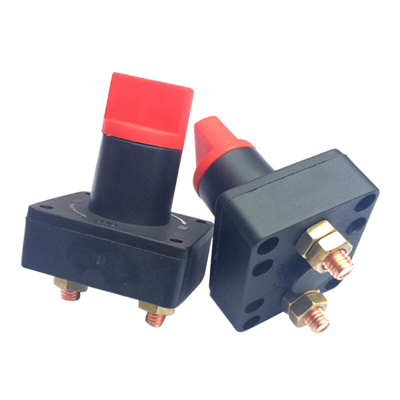 300A 12V Car Boat Battery Power Isolator Master Disconnect Cut Off Switch #BE