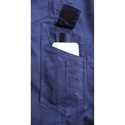 CARGO PANTS Mens Work Trousers Classic Fit UPF 50+ Stretch Cotton Drill 3M Tape 9
