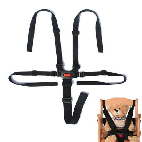 Kids 5 Point Safety Harness Stroller Baby Car Belt Strap High Chair Pram Buggy^ 5
