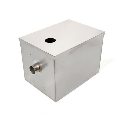 Kitchen Upgraded Grease Trap Interceptor Stainless Steel Wastewater Mineral Oil 5