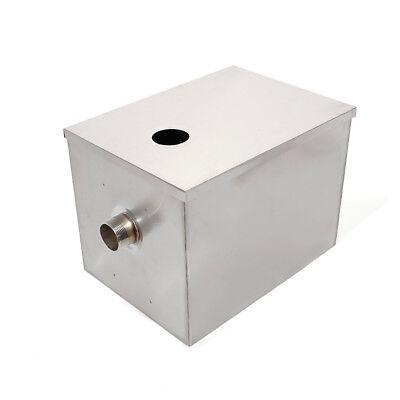 Single Inlet 50m3/h Grease Trap Interceptor Oil Water Separator Kitchen Steel 5