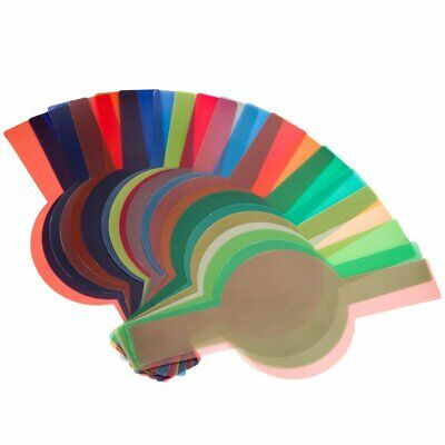 20PCS Color Filters For Godox V1 TTL Round Head Portable Flash Speedlite 4