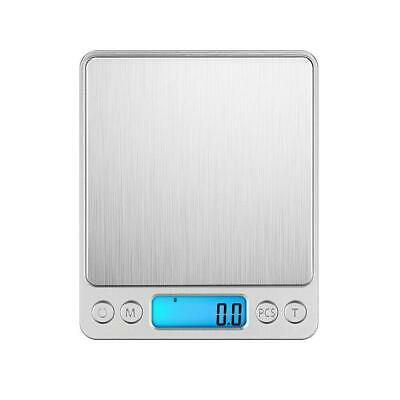 3000g x 0.1g Gram Pocket Digital Scale Jewelry Gold Silver Coin Kitchen Weighing 2