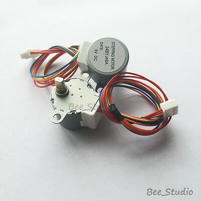 24BYJ-48 High Quality Stepper Gear Motor 5V 4 Phase 5 wire Step Reduction Motor 2