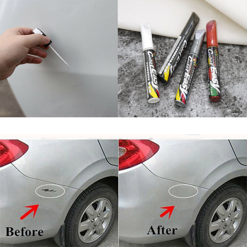 Car Scratch Repair Remove Touch Up Paint Pen Tool Waterproof Practical 4Colors 2