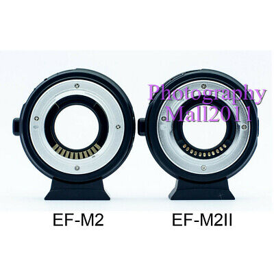 Viltrox EF-M2 II Auto Focus Adapter Speed Booster for Canon EF Lens to MFT M4/3 12