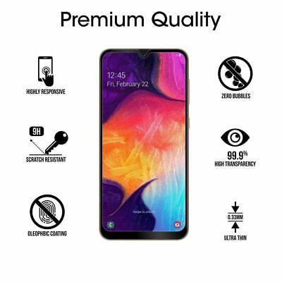 Samsung Galaxy A50 A20e A10e A70 A40 A30 A20 A10 Tempered Glass Screen Protector 6