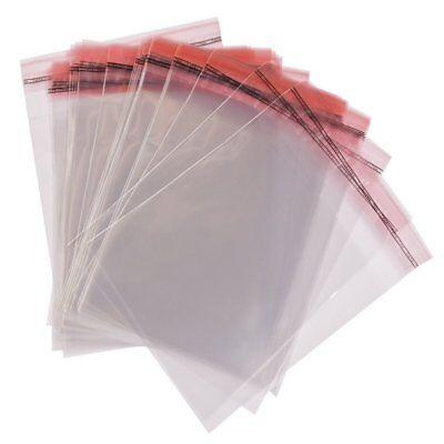 Adhäsion Tüten Beutel Plastiktüte Selbstklebend Verschließbar Verpackung Folie