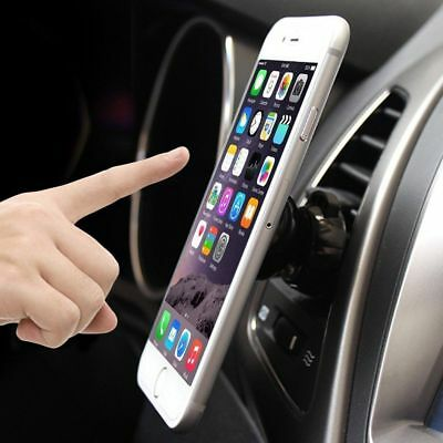 Universal Magnetic 360 Car Air Vent Mount Stand Phone Mobile Holder (Clip Style)