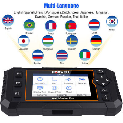 Foxwell OBD2 Scanner Full System Auto Diagnostic Tool Oil EPB Reset Code Reader 6