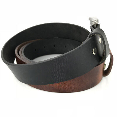 New Quality Genuine Full Grain Leather Classic Mens Jeans Belt Aussie Seller 2