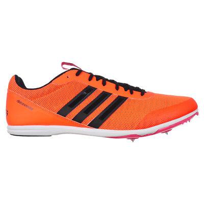 Details zu adidas Distancestar Damen Running Spikes Orange Track and Field Schuhe