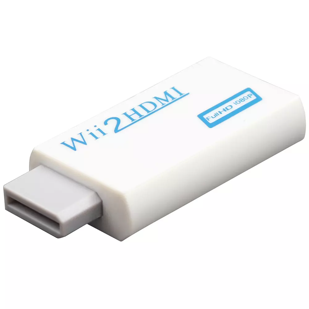 Wii To Hdmi Adapter Wii2hdmi 1080p Converter 3.5mm Audio Video Full HD Wii HDTV 6