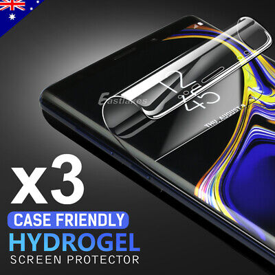 HYDROGEL Screen Protector Samsung Galaxy S10 5G S9 S8 Plus Note 10+ 8 9 S7 Edge 11