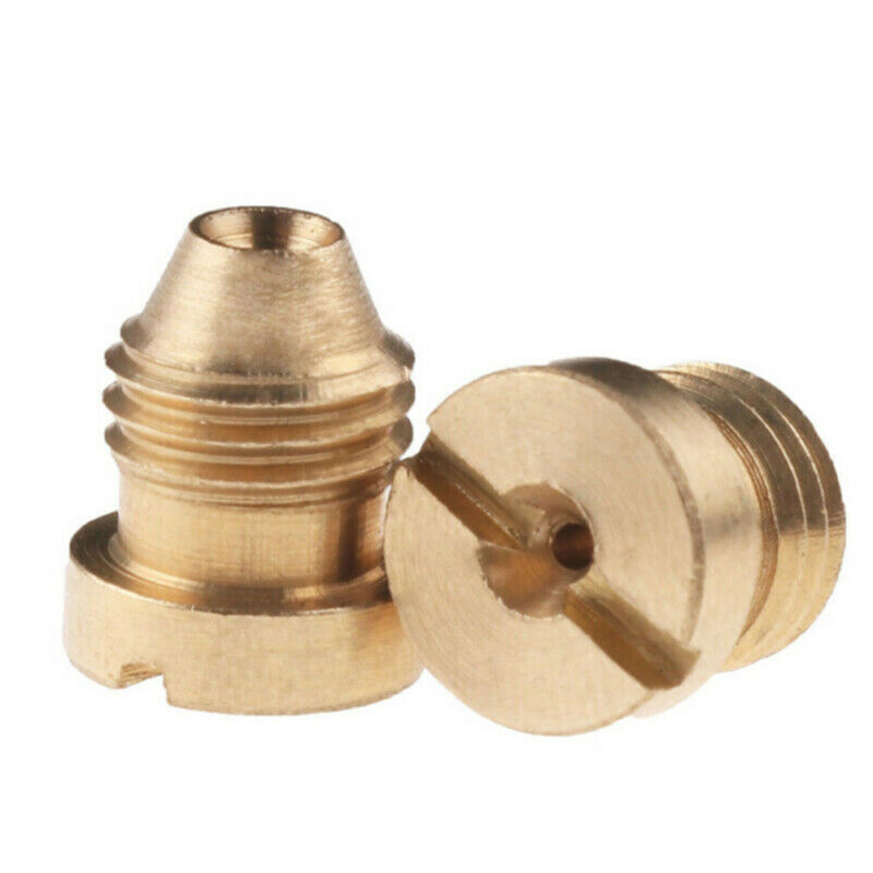 1.1mm / 1.25mm Foam Cannon Orifice Nozzle Tips Thread Nozzle For Snow Foam Lance 2