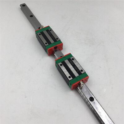 HGR25 Linear Guide Rail L1200mm & 2pcs HGH25CA Rail Guide Block Slider HIWIN 7