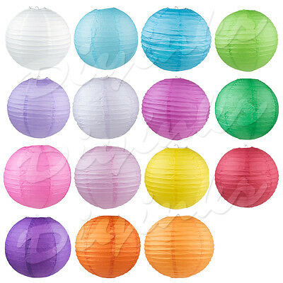 """Chinese Paper Lantern Decoration Wedding Party Festival 8"""" 10"""" 12"""" 14"""" 16"""" 2"""