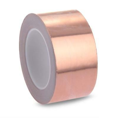 Copper Foil Shielding Tape Electric Guitar Bass 50mm x 2m Conductive Adhesive 2