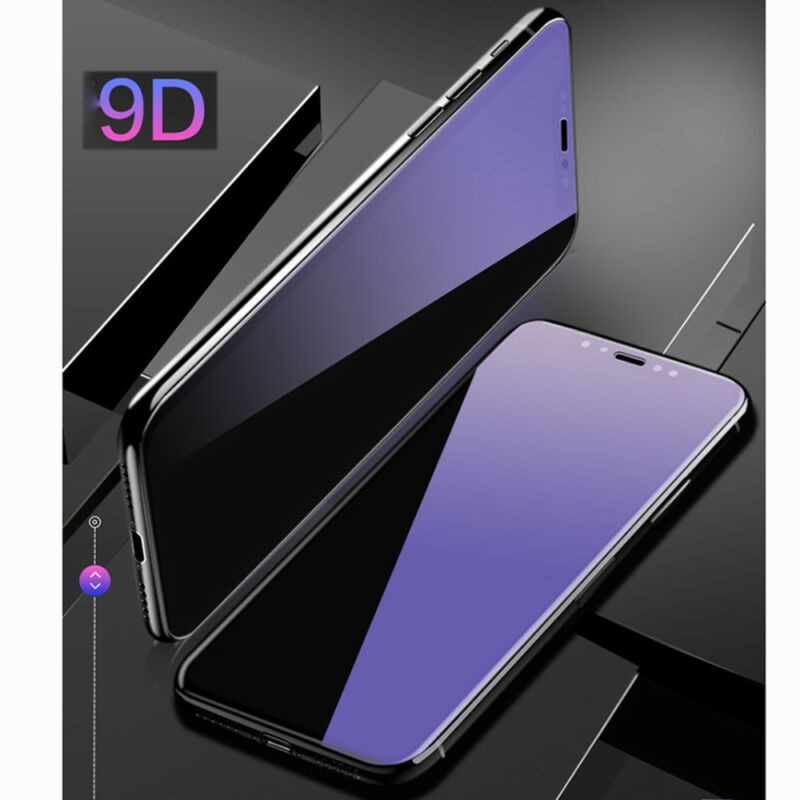 9D Screen Protector Tempered Glass For iPhone XS Max Xr Protective Full Curved
