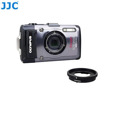 5in1 Kit Lens Adapter+Screen Protector+40.5mm Lens Cap fr Olympus TG-5 TG-4 TG-3 2