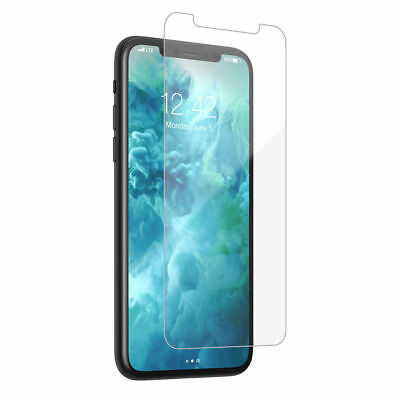 Fits For iPhone Xs Max XR 100% Genuine Clear Tempered Glass Screen Protector 3