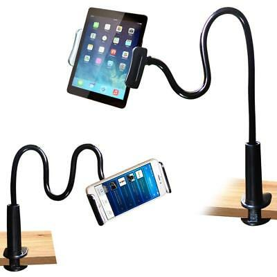 360°Rotating Tablet Stand Holder Lazy Bed Desk Mount iPad Air iPhone Samsung 8