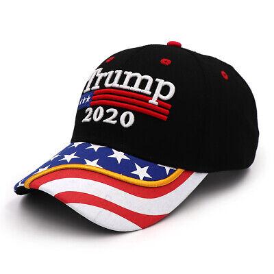 President Donald Trump 2020 USA Flag Baseball Cap Hat Make America Great Forever 2