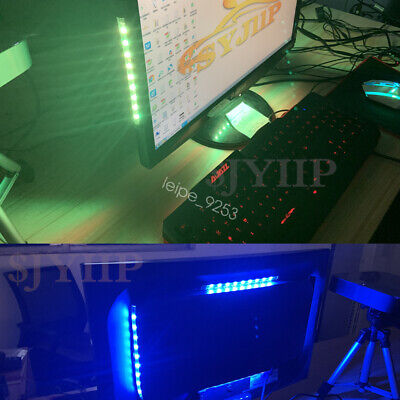 great GIFT for gamers players GAMING COMPUTER DESK GBP LED Accent Lighting kit
