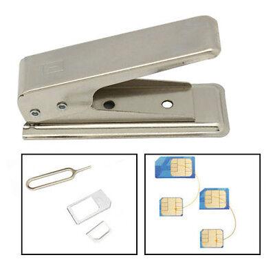 Standard Micro To Nano SIM Card Metal Cutter For Apple iPhone5 5th