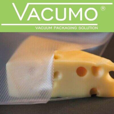10 Vakuumrollen 18 x 600 cm Vakuumrolle Vakuumbeutel Vakuumtüte VACUMO goffriert