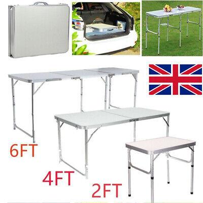 Heavy Duty Folding Table Portable Picnic Camping Garden Party BBQ Indoor Outdoor 3