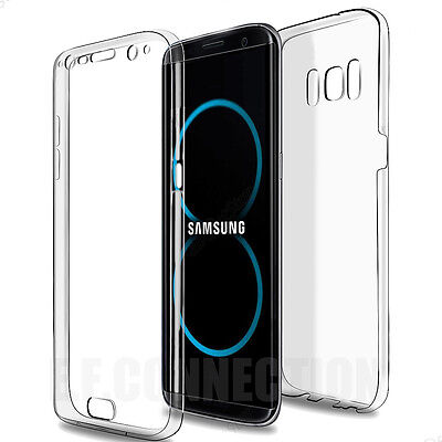 Coque Housse 360° FULL Silicone Tactile Pour Samsung S6 S7 S8 PLUS S9 Note 8 9 3