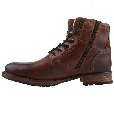 DOCKERS BY GERLI 43DY103 Herren Combat Boots Leder