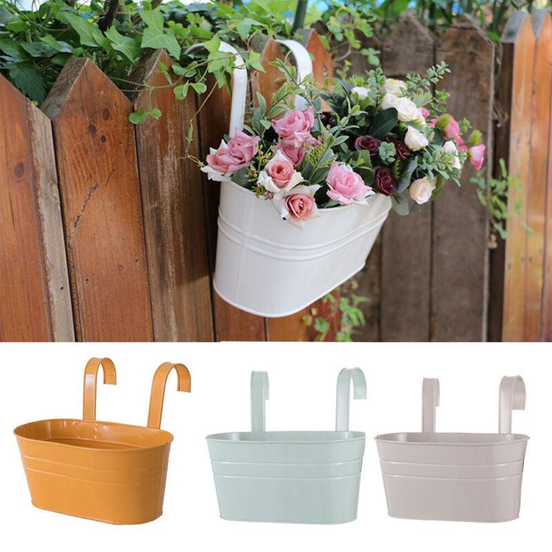 fence flower pots uk