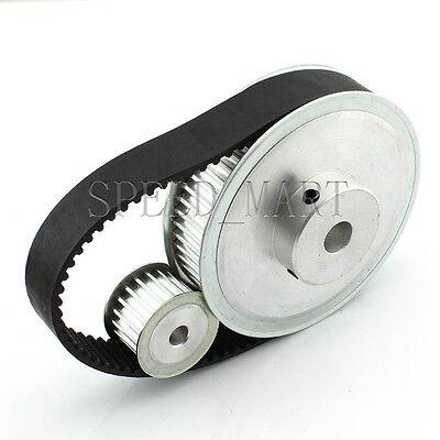 5M HTD5M 60T 20T Belt Width 15mm Timing Pulley Belt set kit Reduction Ratio 3:1